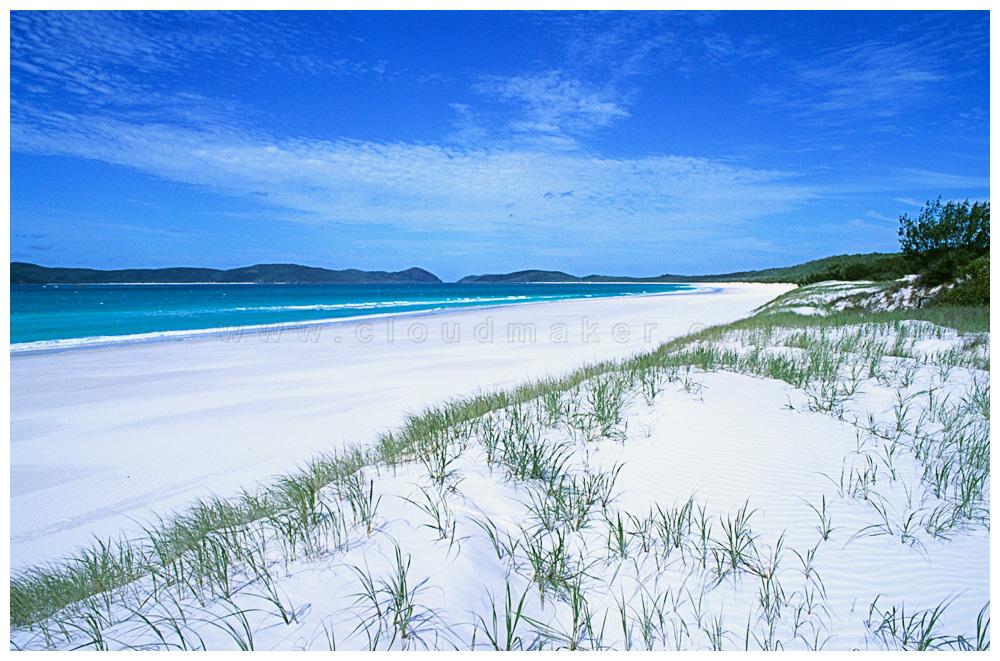 Whitehaven beach scotland